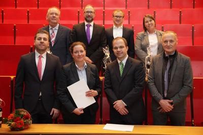 oben v. links n. rechts: Dr. Wolfgang Lobbes, Marc Jipp, Dr. Joachim Gerst, Dr. Eefje Barber; unten v. links n. rechts: Ibrahim Hussein, Dr. Jill Jussli-Melchers, PD Dr. Jochen Gaedcke, Dr. Gert Warncke