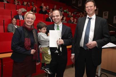 v. links n. rechts: Tonja Soós, PD Dr. Jochen Gaedcke, Prof. Dr. Ralf Junker