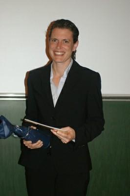 Absolventin Dr. Britta Weidtmann